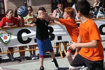 Streetball en la plaza de la Coronación