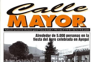 CALLE MAYOR 083 - ALREDEDOR DE 5.000 PERSONAS EN LA FIESTA DEL AGRO CELEBRADA EN AYEGUI