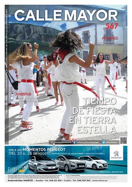 CALLE MAYOR 567 – TIEMPO DE FIESTA EN TIERRA ESTELLA