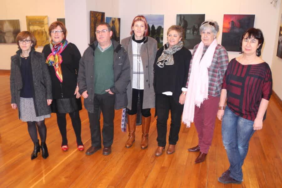 Exposición del colectivo Alfredo Sada en la casa de cultura Fray Diego