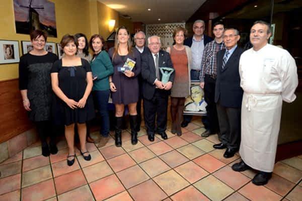 Joaquín Ansorena recogió el galardón 'Estellés del Año 2013'