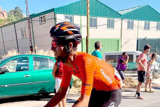 """Diego López- """"Espero dar un salto más, competir y progresar como ciclista"""""""