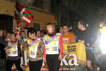 La korrika cruzó Estella-Lizarra