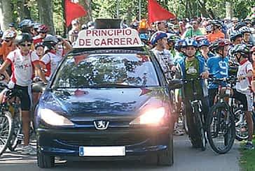 Casi mil personas pedalearon en el Día de la bicicleta