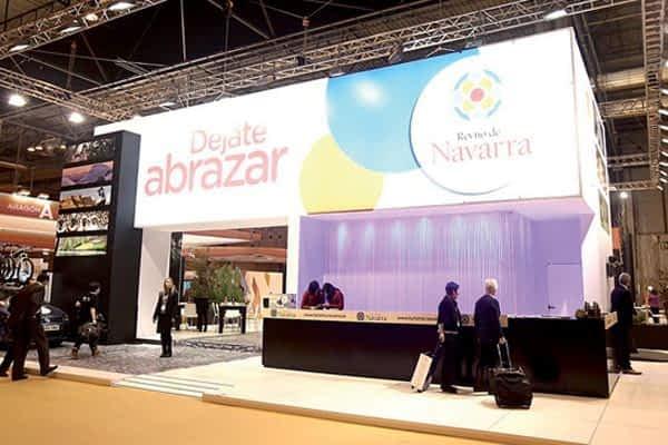Tierra Estella tuvo representación turística en el stand de Navarra en Fitur