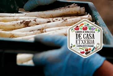 'De casa-Etxekoa' impulsa la venta de espárrago fresco de Navarra y distribuye a domicilio todos sus productos