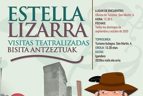 Visitas teatralizadas para conocer la historia de Estella-Lizarra