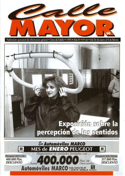 CALLE MAYOR 066 – EXPOSICIÓN SOBRE LA PERCEPCIÓN DE LOS SENTIDOS