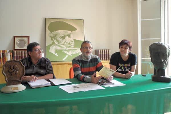 Irujo Etxea recupera la memoria de Fortunato Agirre
