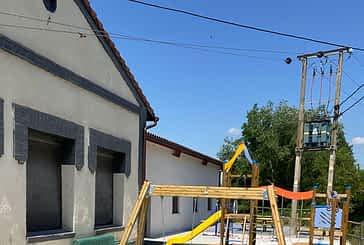 Destinados 30.000 euros para la renovación del parque infantil de Marañón