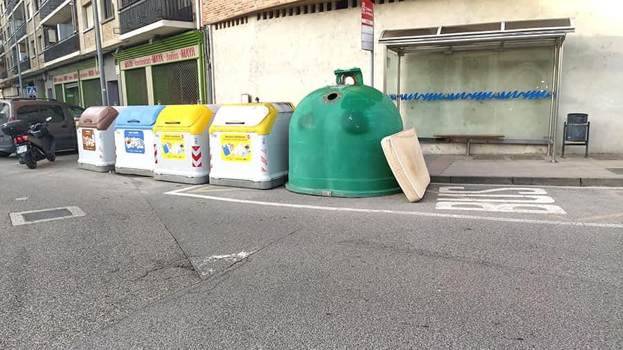 Una campaña de Mancomunidad para eliminar los voluminosos de las calles