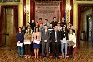 Dos alumnos del CIP de Estella, premios extraordinarios de Formación Profesional