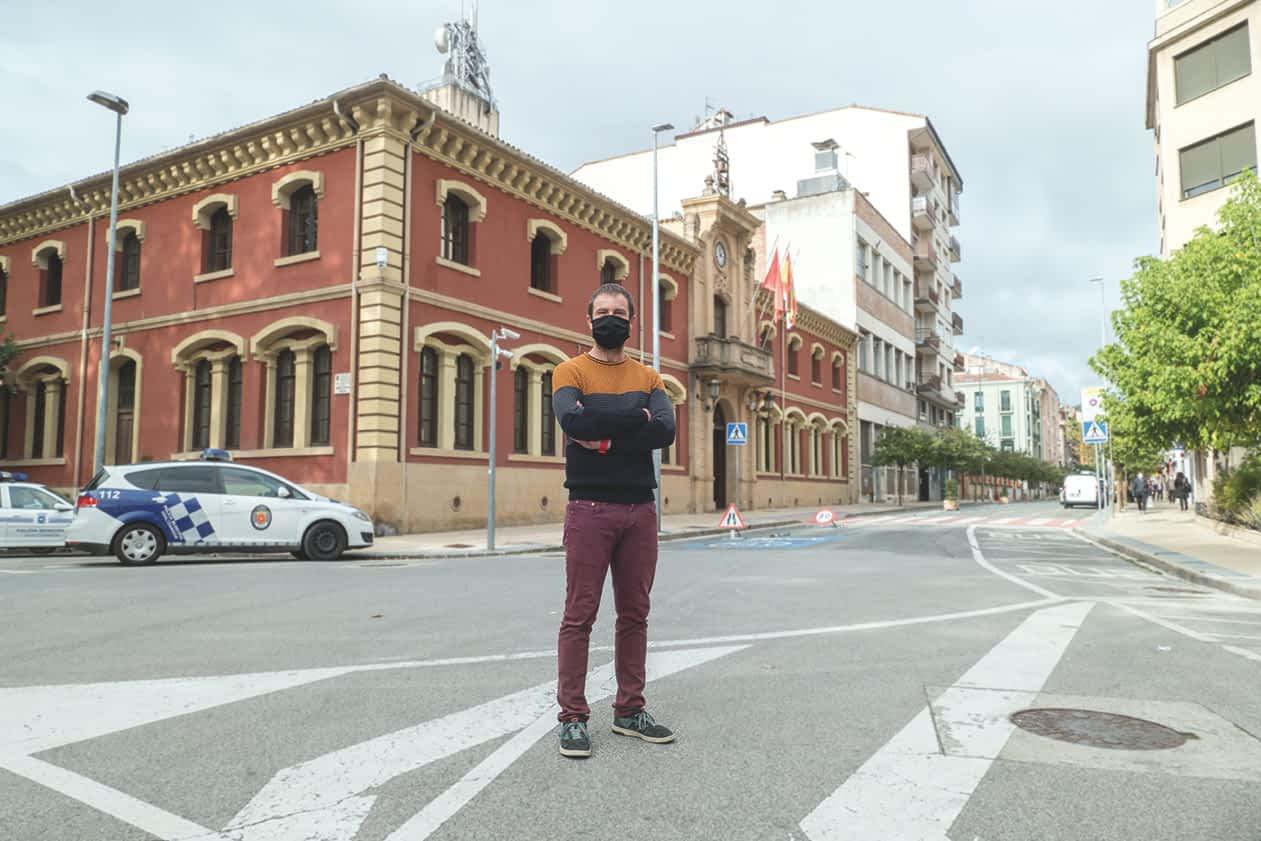 """PRIMER PLANO – Koldo Leoz, alcalde de Estella-Lizarra – """"La situación actual ha traído de positivo un mayor compromiso en el consumo local"""""""