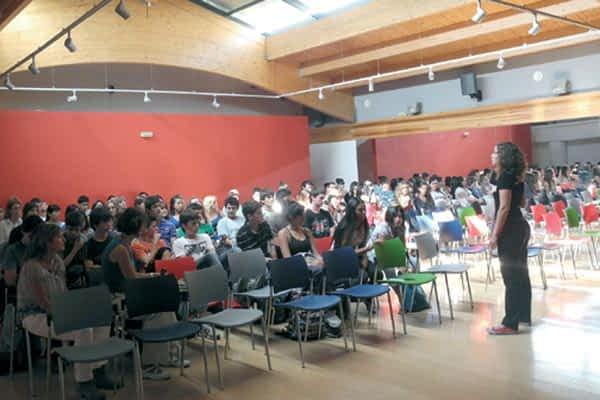 El Festival de Cine de Pamplona se acercó a Estella