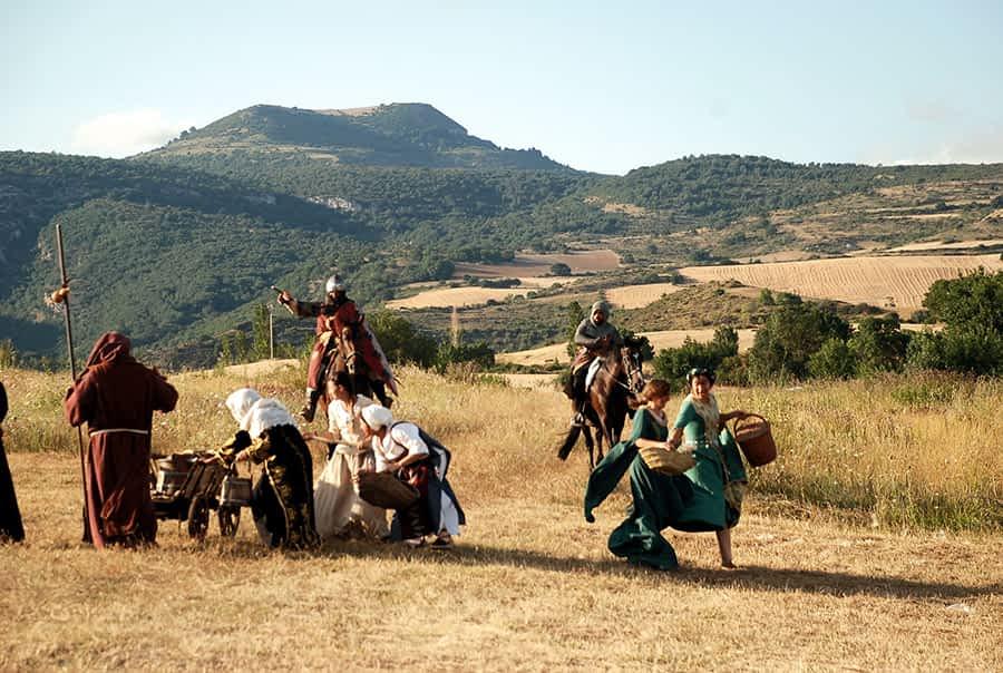 Muez acogió la segunda edición de la Batalla de Valdejunquera