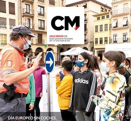 CALLE MAYOR 720 - DÍA EUROPEO SIN COCHES, Y DE SENSIBILIZACIÓN, EN ESTELLA