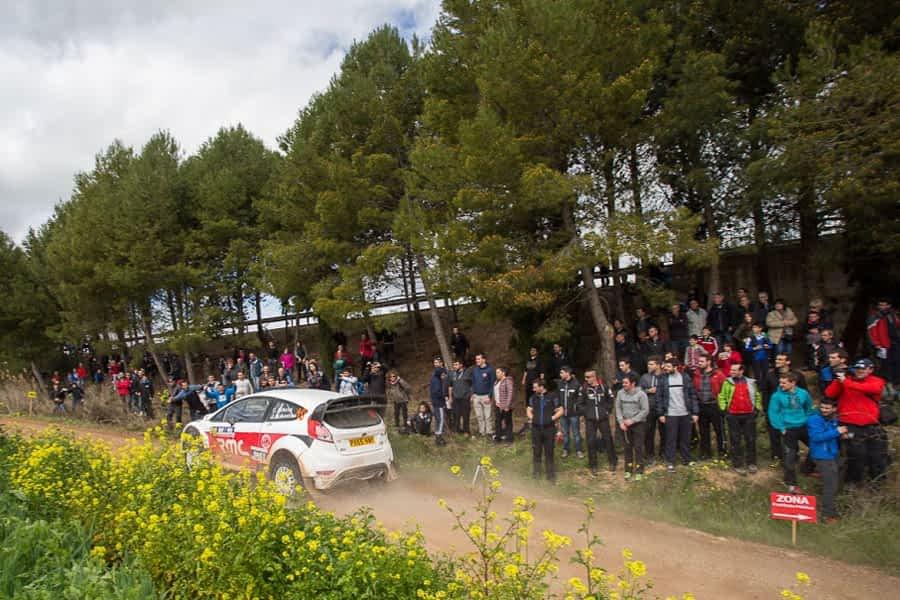 Victoria de Joan 'Nani' Roma en el II Rally Circuito de Navarra