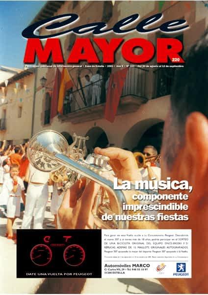 CALLE MAYOR 220 – LA MÚSICA, COMPONENTE IMPRESCINDIBLE DE NUESTRAS FIESTAS