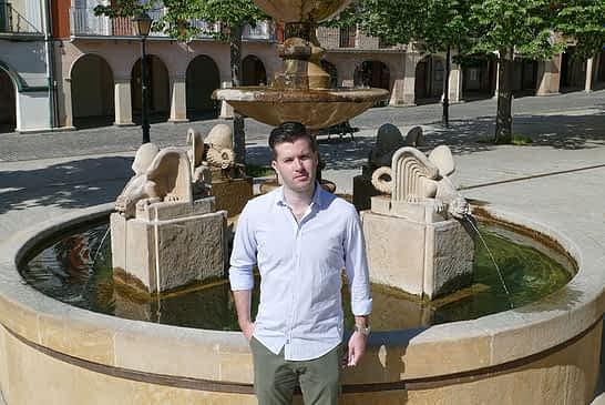 PRIMER PLANO - Pablo Ezcurra, concejal de Desarrollo Económico y Empresarial -