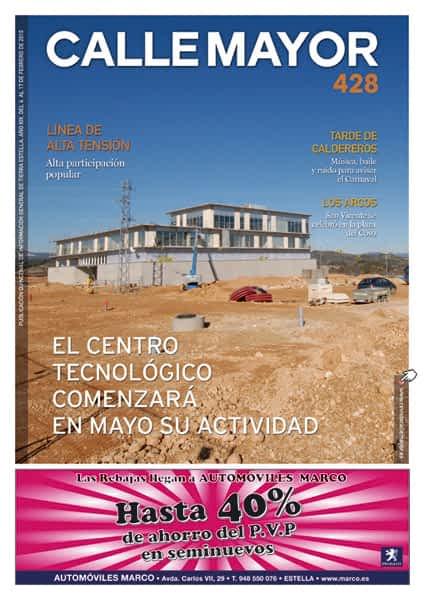 CALLE MAYOR 428 – EL CENTRO TECNOLÓGICO COMENZARÁ EN MAYO SU ACTIVIDAD