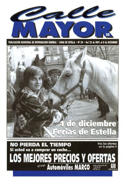 CALLE MAYOR 038 – 1 DE DICIEMBRE FERIAS DE ESTELLA