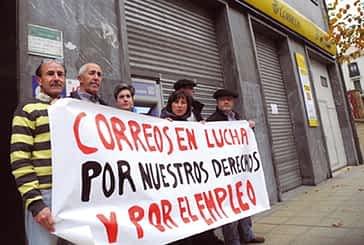 Correos convocó el 27 de noviembre una huelga general por los recortes