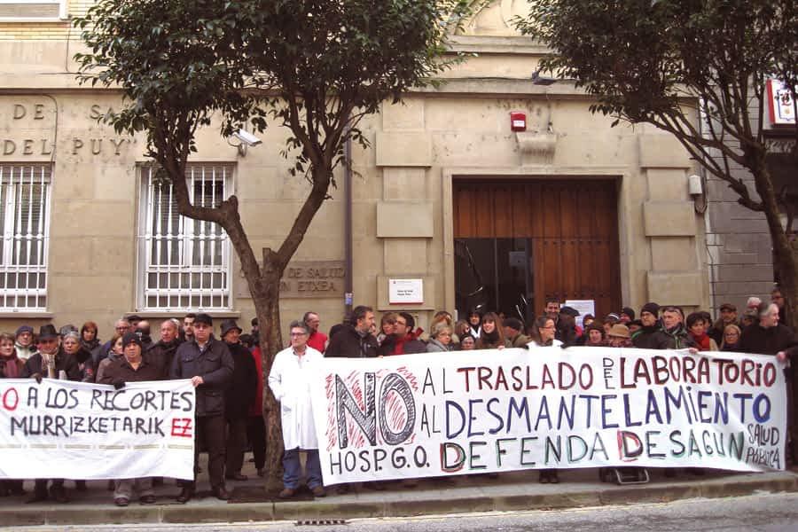 El Pleno aprobó una moción en defensa del laboratorio del Hospital