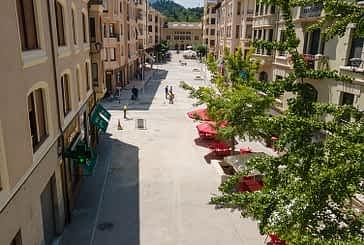 Terminadas las obras de peatonalización de la calle San Andrés