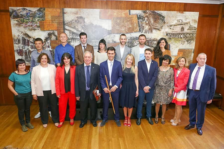 Investido alcalde Gonzalo Fuentes con los siete votos de Navarra +