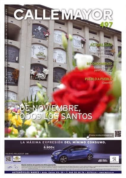 CALLE MAYOR 497 – 1 DE NOVIEMBRE, TODOS LOS SANTOS
