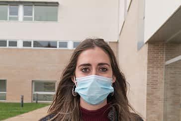 """MIREN URMENETA SALVATIERRA - """"Empecé con miedo al contagio por el continuo contacto con el virus, pero se aprende a convivir con ello"""""""
