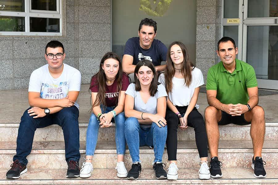 Cuatro estudiantes de Lizarra Ikastola, de Erasmus en Antalya (Turquía)