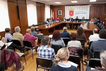 Ayuntamientos de Tierra Estella se reúnen con el vicepresidente Laparra