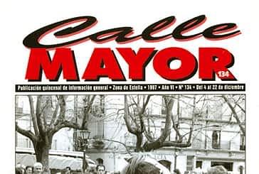 CALLE MAYOR 134 - FERIAS DE ESTELLA. POCO GANADO Y MASIVA AFLUENCIA DE GENTE