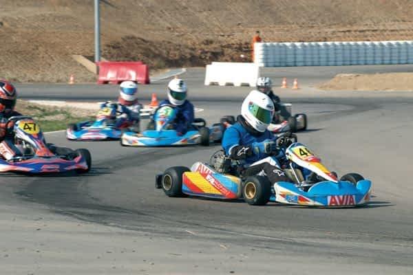 Luis Fernández Sainz, subcampeón en el Campeonato Navarro de Karting