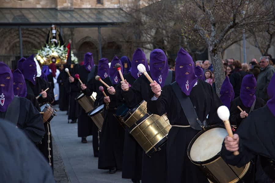 El Traslado de La Dolorosa marcó el inicio de la Semana Santa