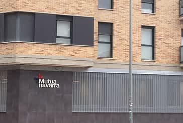 Mutua Navarra estrena nueva sede en Estella, en la calle Navarro Villoslada