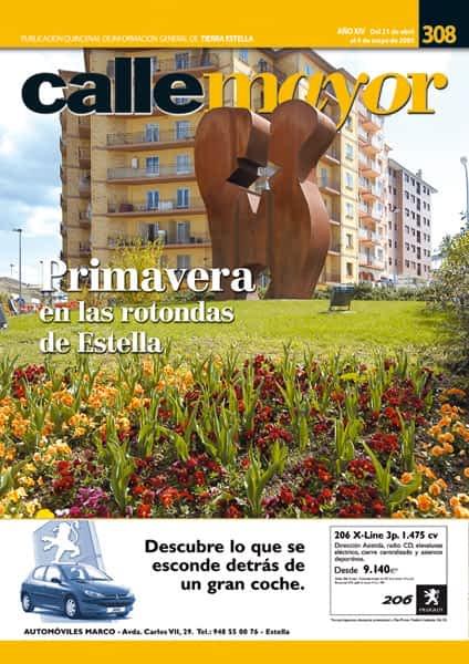 CALLE MAYOR 308 – PRIMAVERA EN LAS ROTONDAS DE ESTELLA