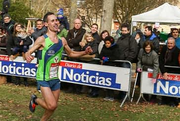 Emocionante final del Campeonato Navarro de cross largo