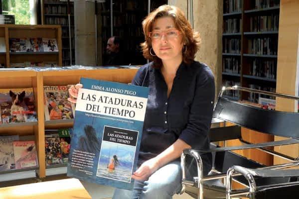 La vecina Emma Alonso publica su primer libro de relatos