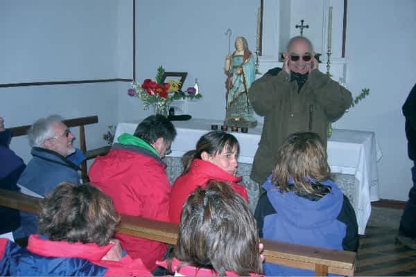 Sexta edición de la romería de Santa Teodosia, desde Arana hasta Mues