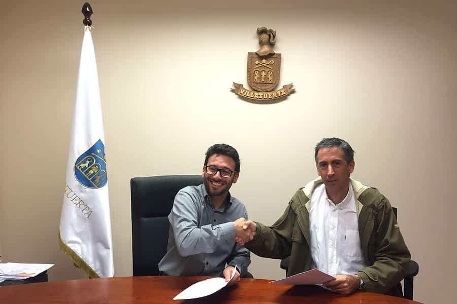 Laseme y Villatuerta firman su colaboración en materia empresarial