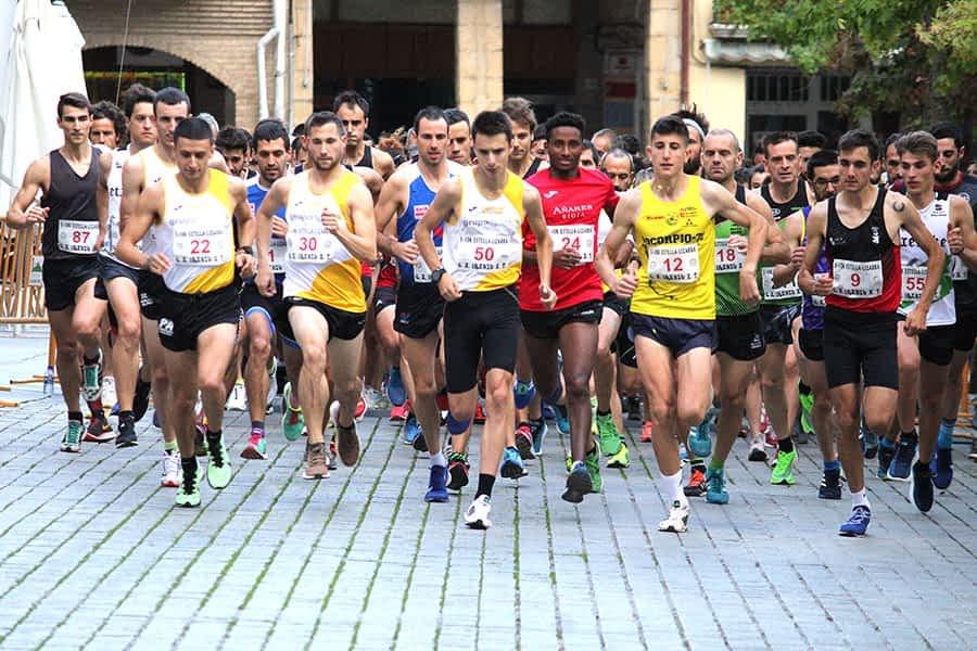 Emoción en la popular carrera 5k-10k Estella-Lizarra