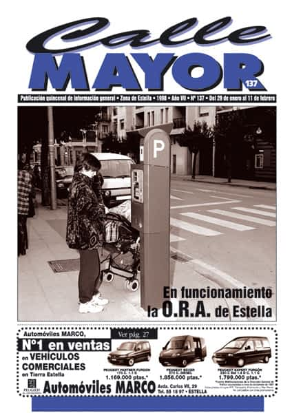 CALLE MAYOR 137 – EN FUNCIONAMIENTO LA O.R.A. DE ESTELLA