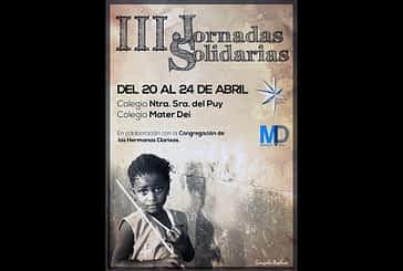 El Puy y Mater Dei celebrarán del 20 al 24 de abril su III Semana Solidaria