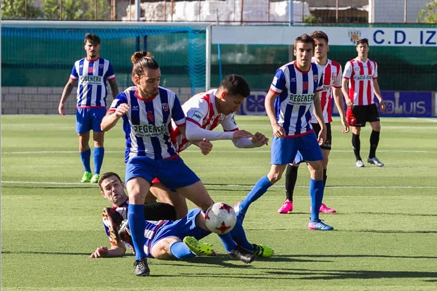 El Izarra disputa el partido de ida de Play Out ante el Llagostera el domingo 20 de mayo