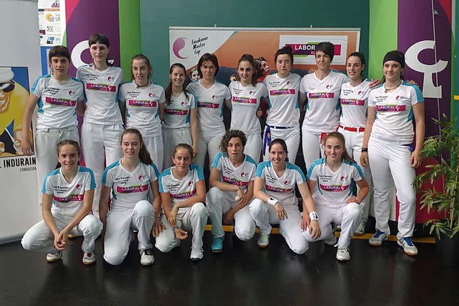 Estella realza a las mujeres pelotaris con las semifinales del San Fermín