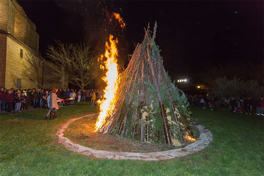 Villatuerta celebró las fiestas del milenario de San Veremundo