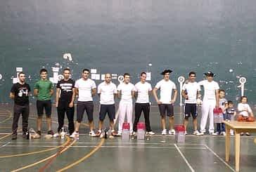 Etxeberria II y Zudaire ganaron el III Torneo Popular de Mano Parejas