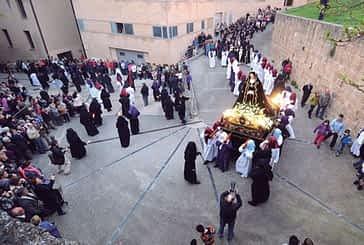 El Traslado de La Dolorosa inició la Semana Santa en Estella